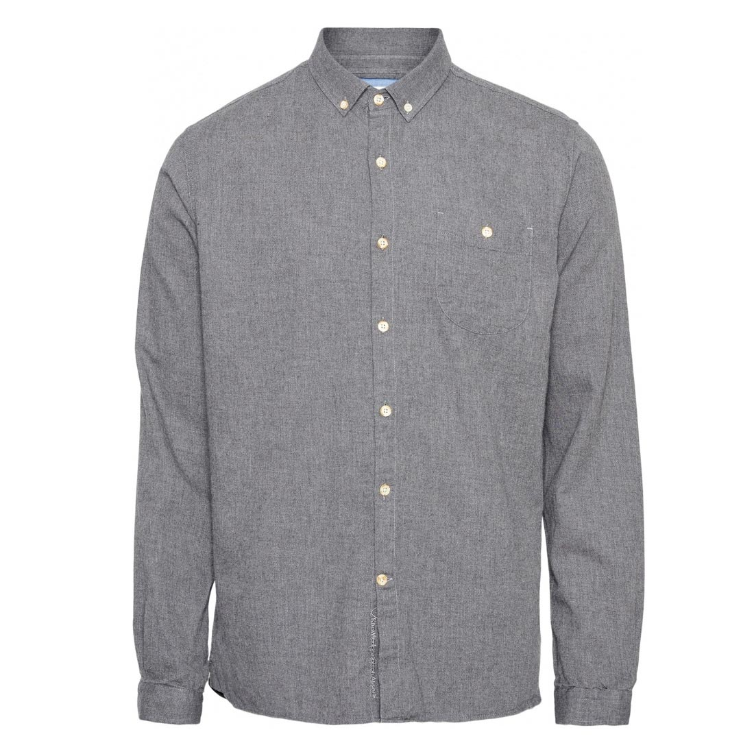 elder melange dark grey knowledge cotton apparel