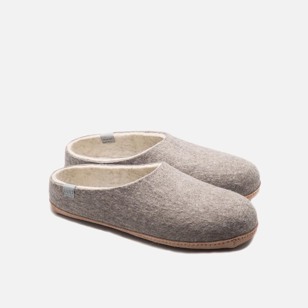 tova eko slippers tofflor i ylle för inomhusbruk