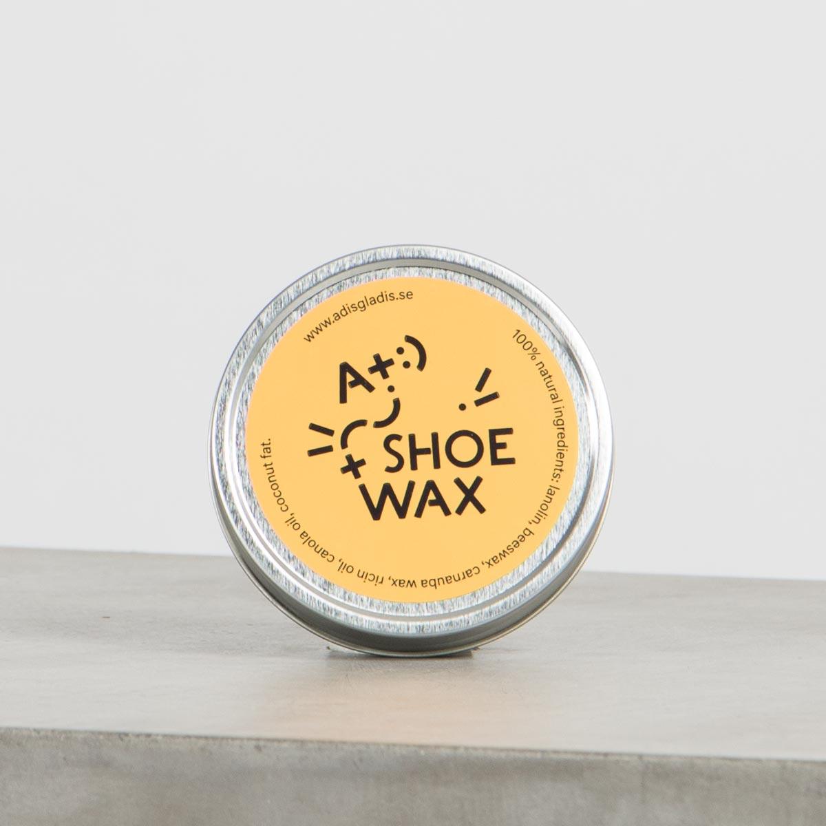 skovax naturligt skinn läder