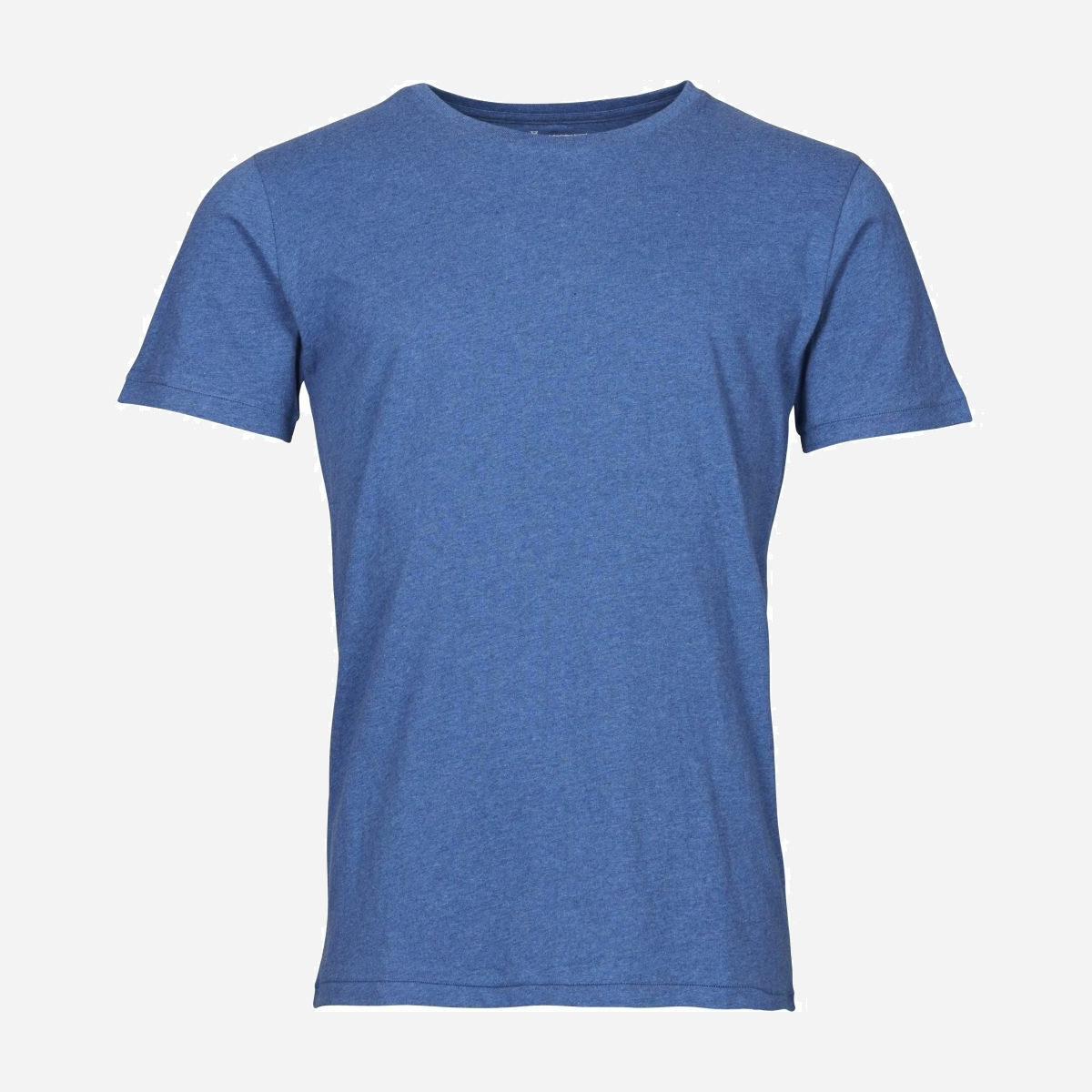Ekologiska t-shirt herr från Knowledge Cotton LJUSBLÅ