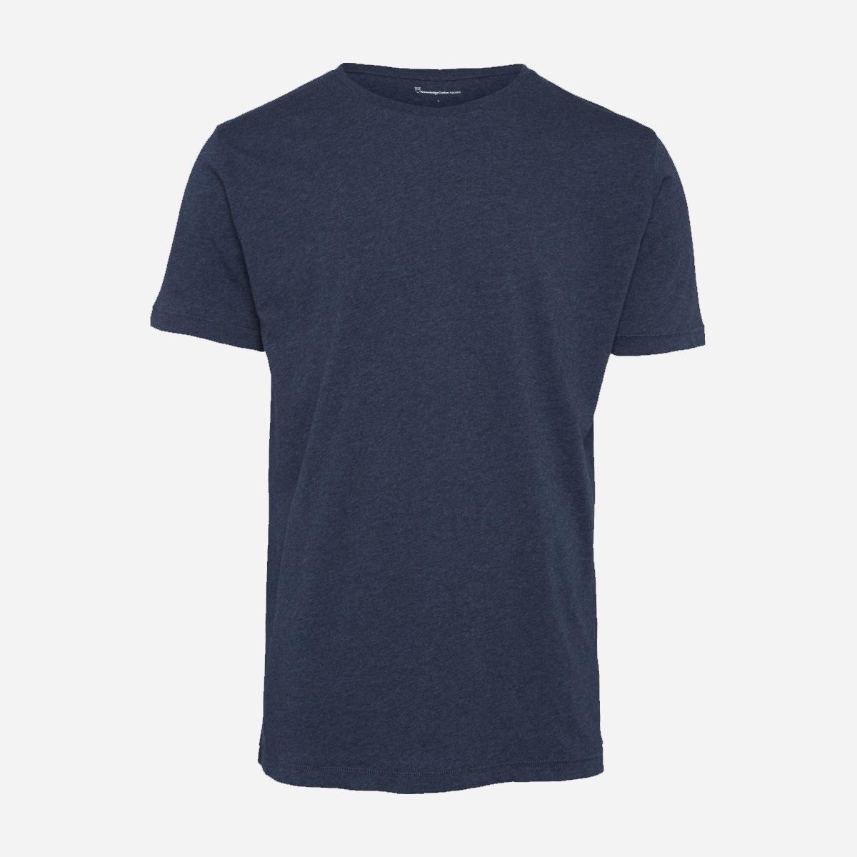 Alder Basic Insignia Blue ekologiska shirt från KNOWLEDGE COTTON APPAREL