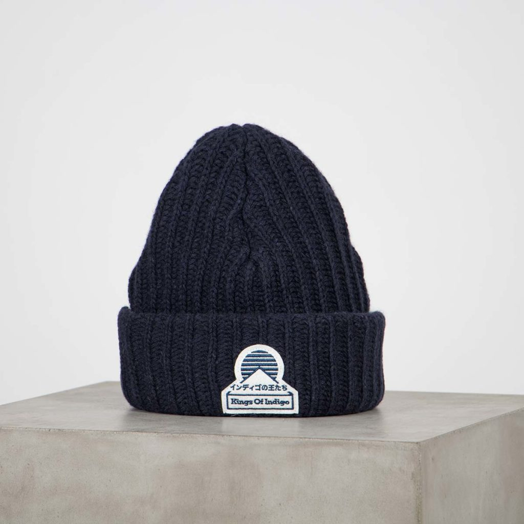 beanie navy kings of indigo