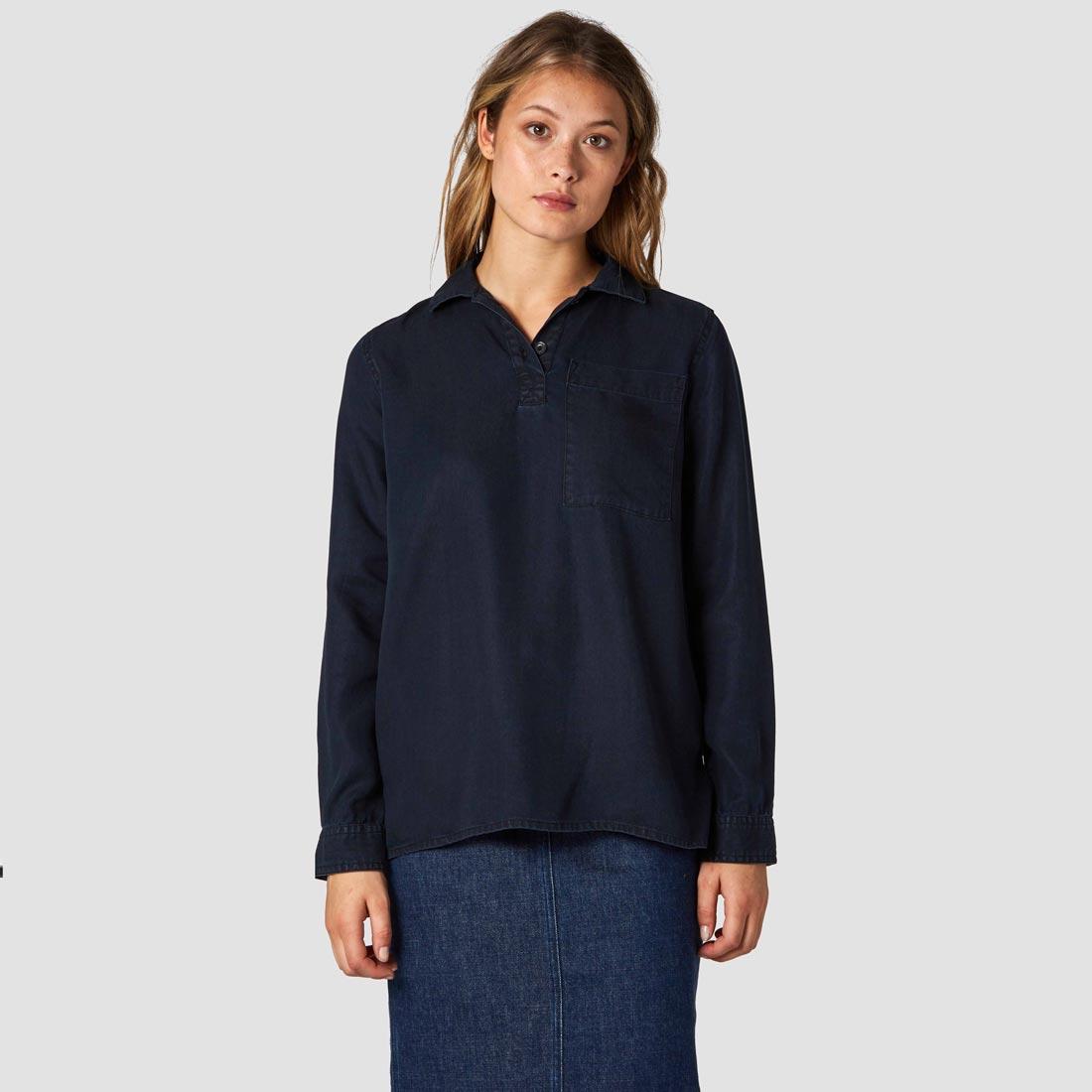 tencelblus pyjamasskjorta