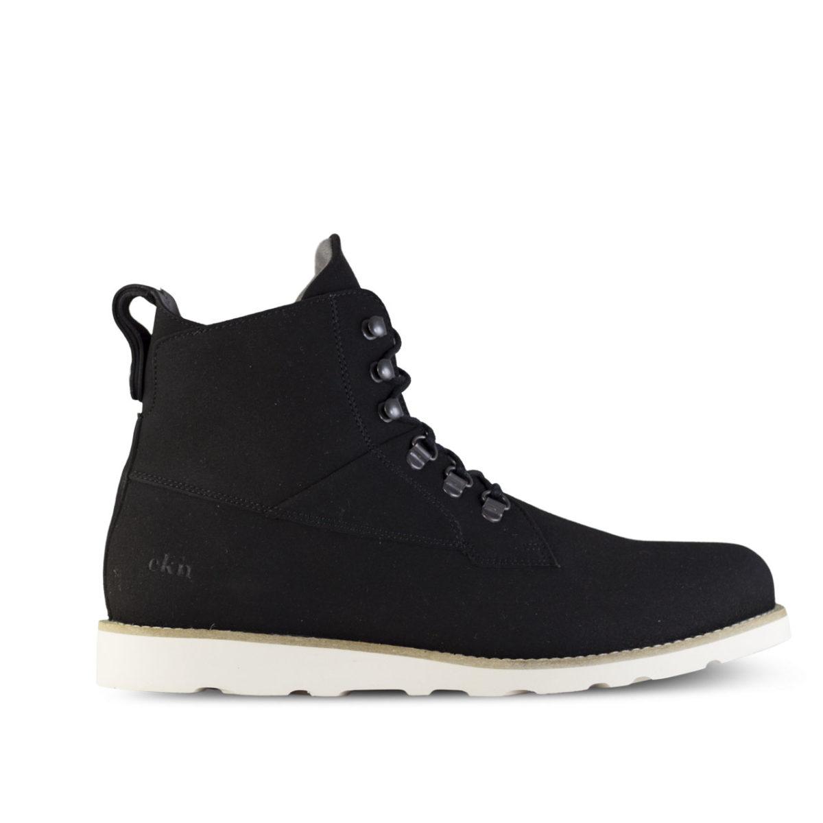 vegansk vinterskor cedar boot vegan black