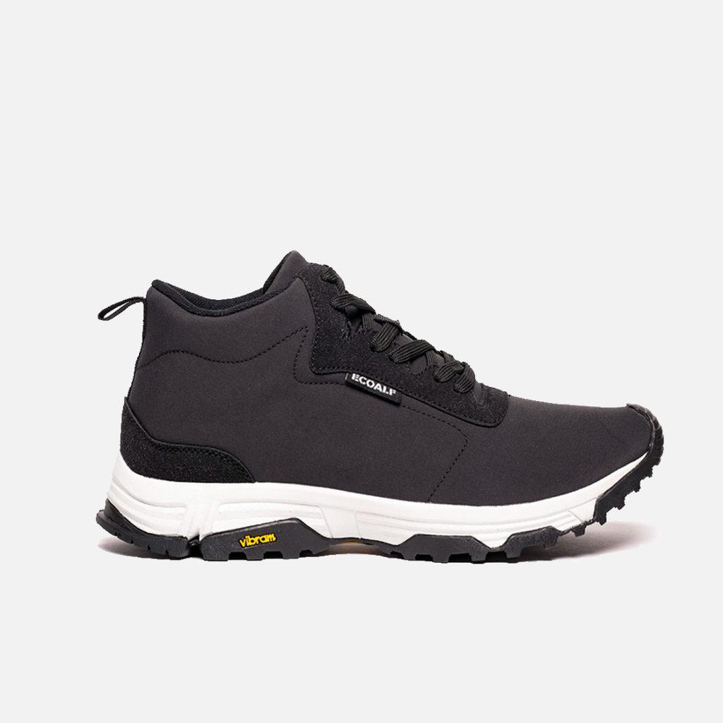 Ecoalf Vegan Sneaker Chronos Black Vibram Mens Trainer