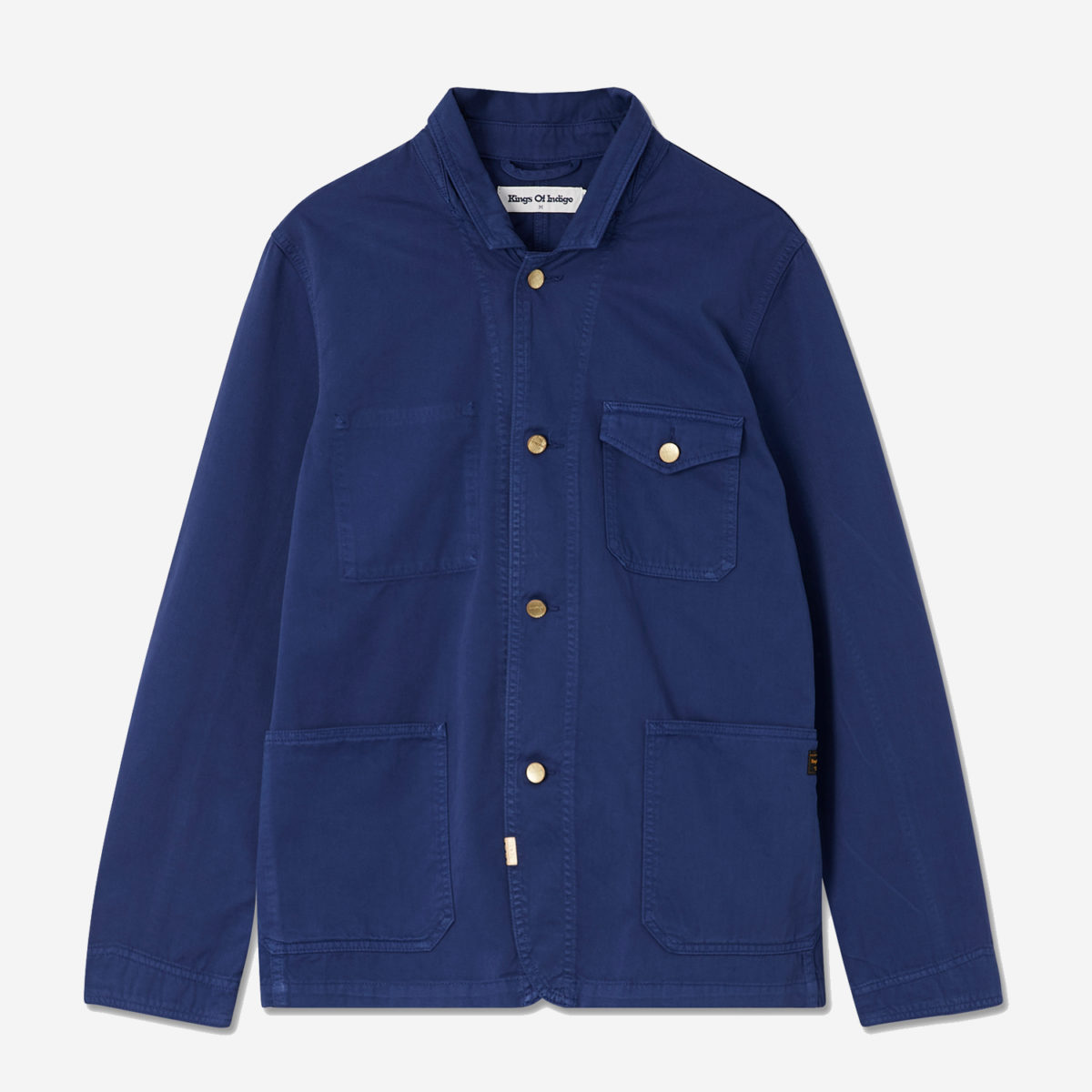 David Jacket Navy - KOI Kings of Indigo