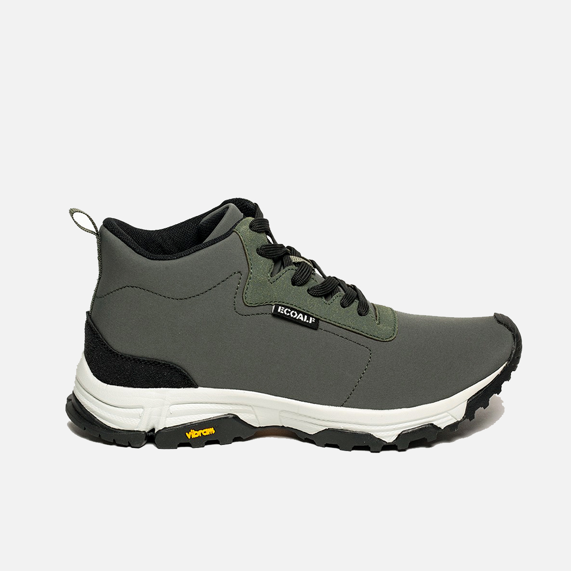 Ecoalf Vegan Sneaker Chronos Black Vibram Mens Trainer