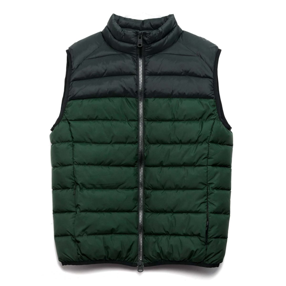st moritz hiking vest vegan ecoalf korean green