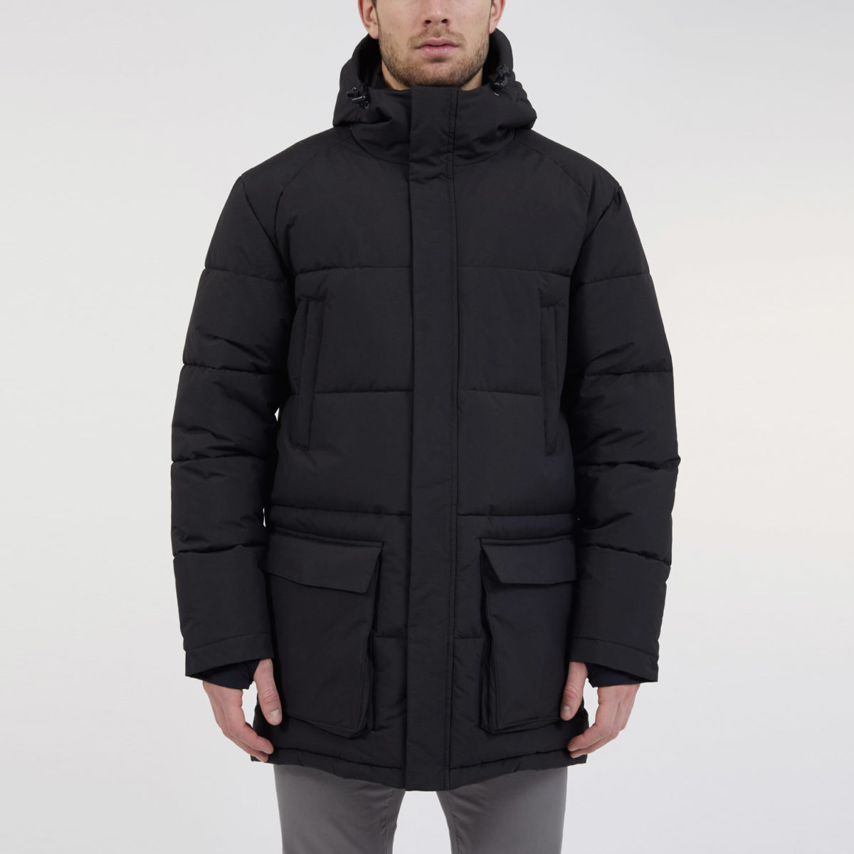 ecoalf vegan jacket samoens black