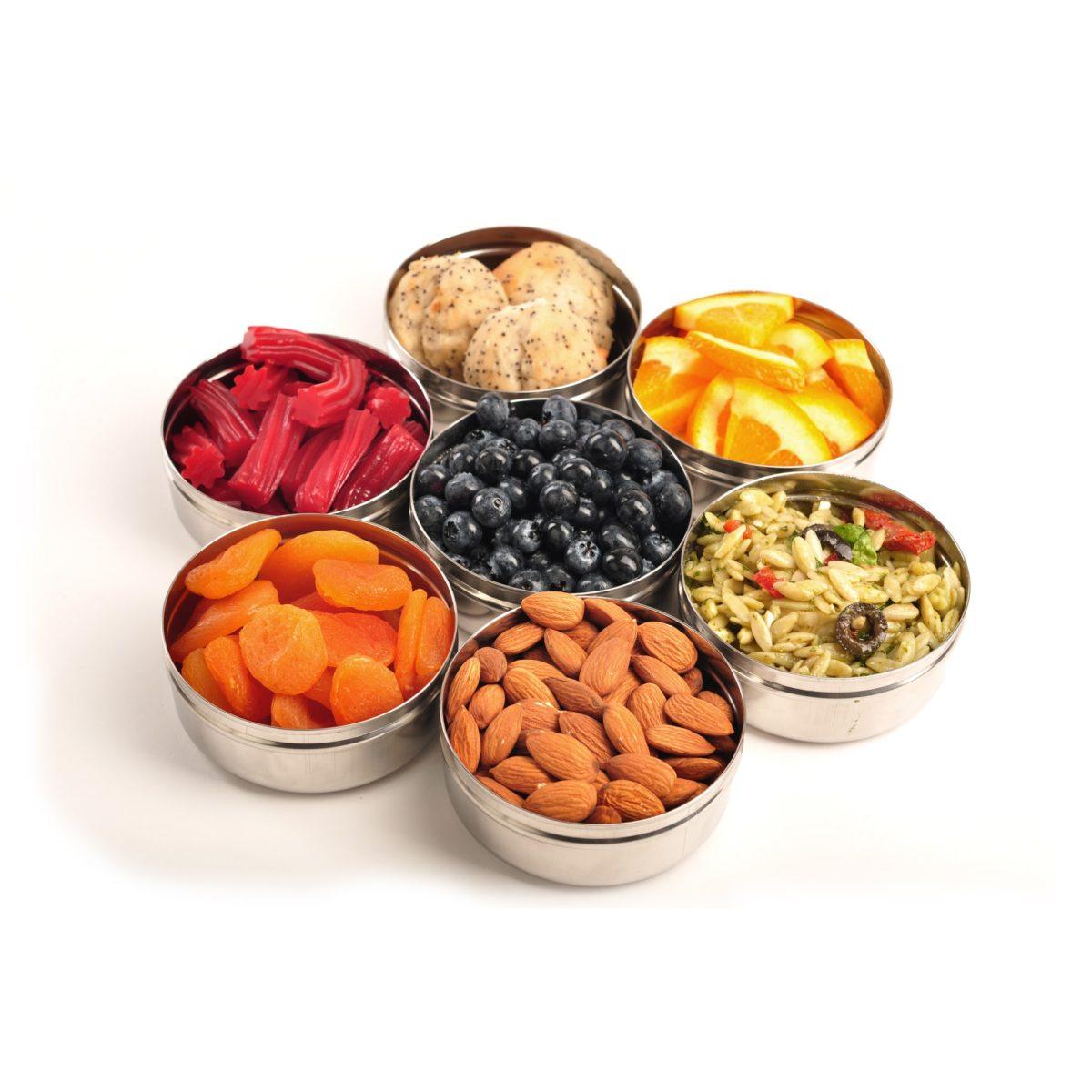 Runda snacksburkar från Eco Lunchbox 220ml
