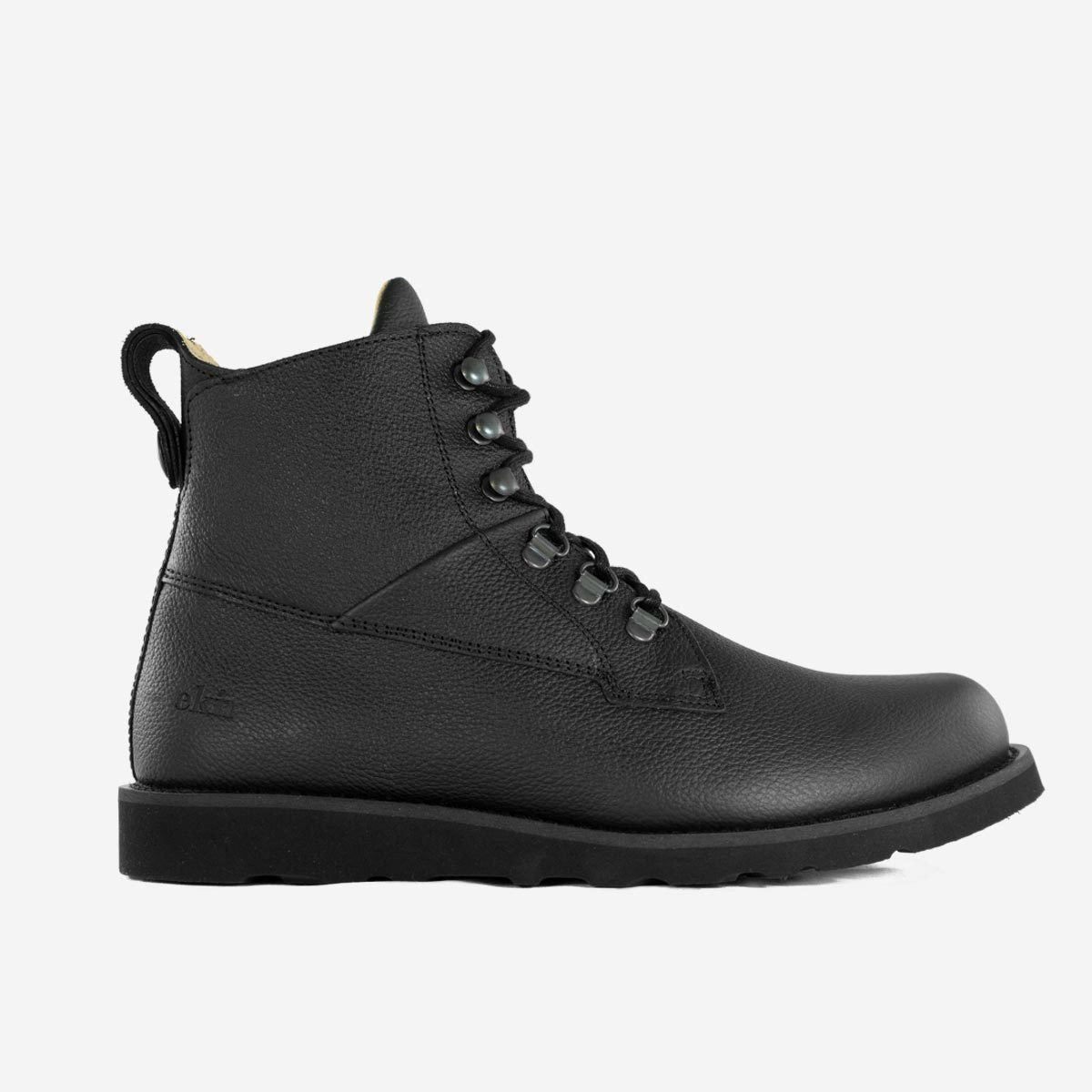 EKN Cedar Bott Black Leather Black Sole