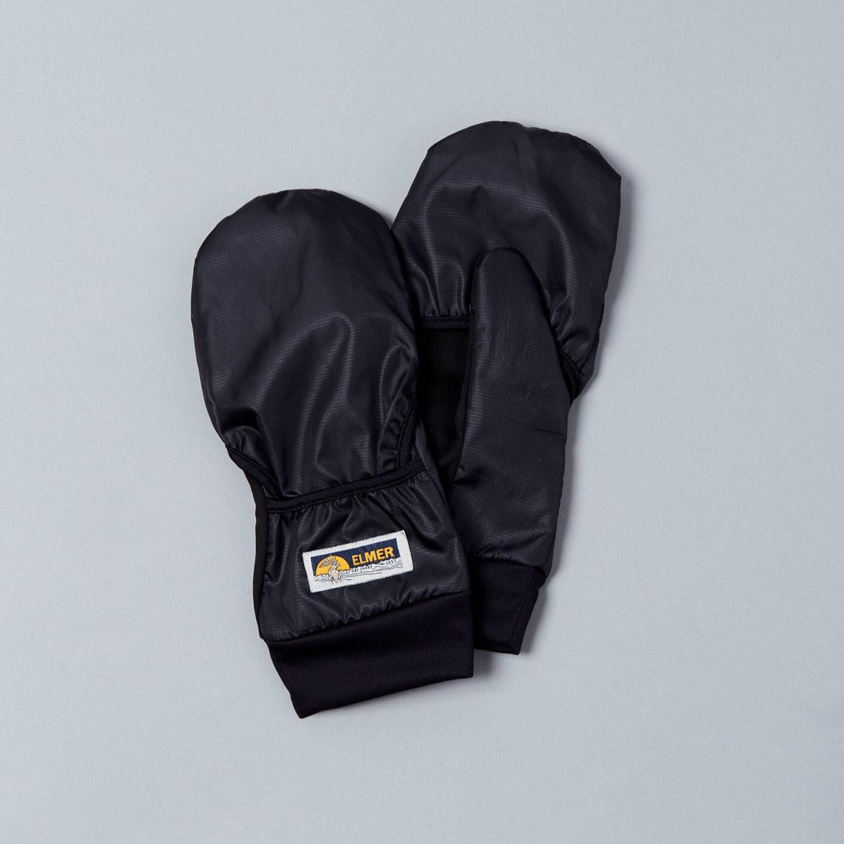 5-fingershandskar med hoodie och konduktiv yta för touchskärmar
