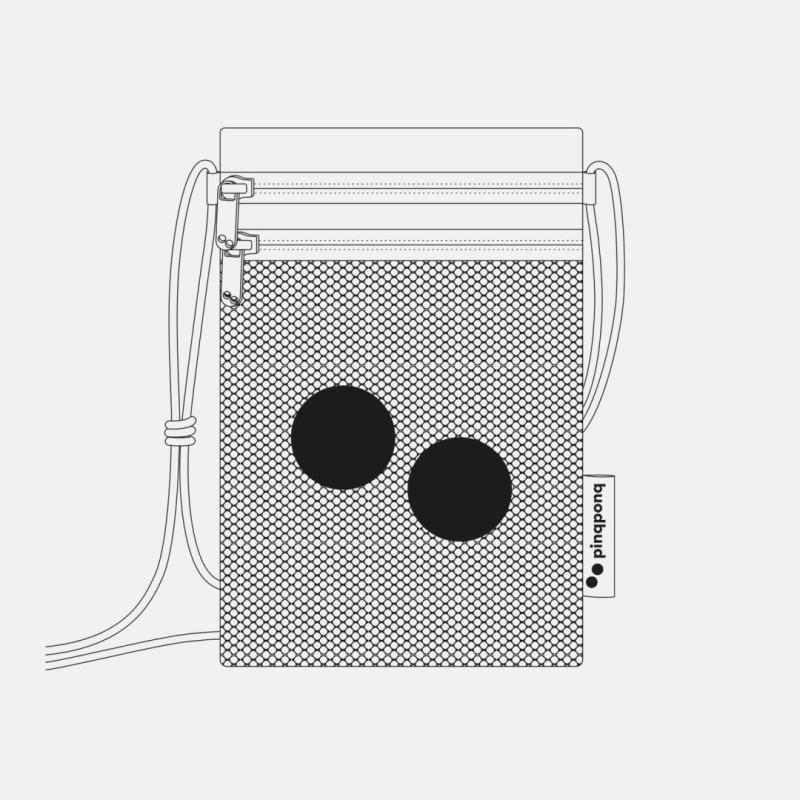 Pinqponq Flak Hip Bag Small Vegan Miniväska