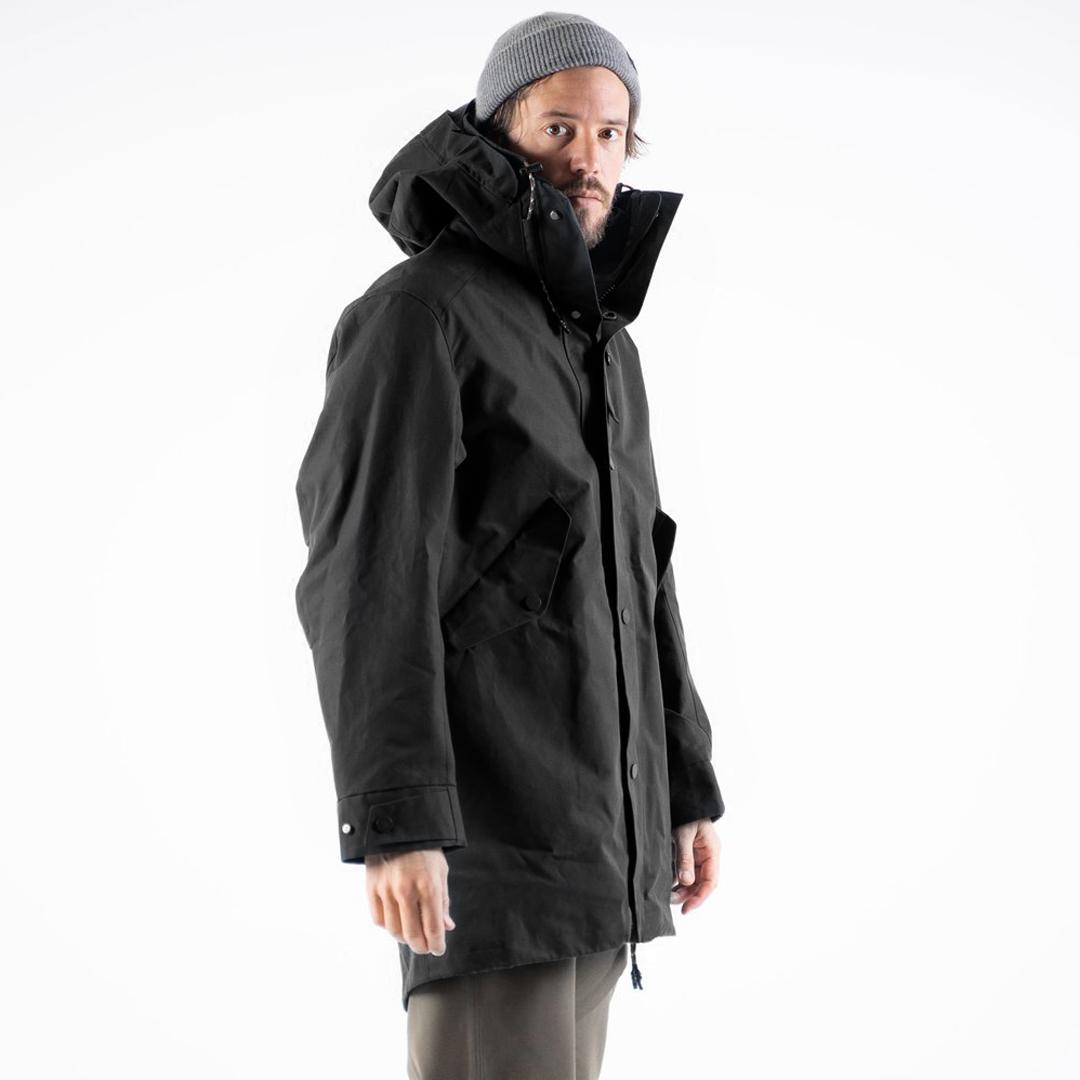 jeckybeng the jacket ekologisk funktionsjakca vattentät