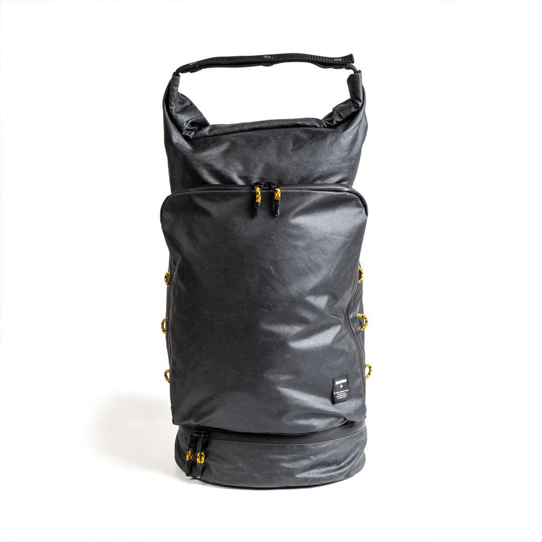ekologisk ryggsäck i vaxas bomull