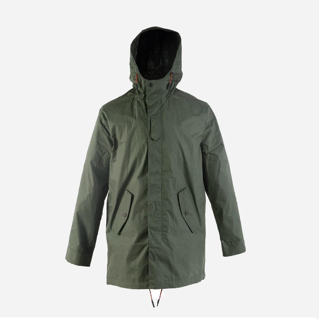 Jeckybeng Lightweight Jacket -Hunting Green. Ekologisk ripstop-jacka