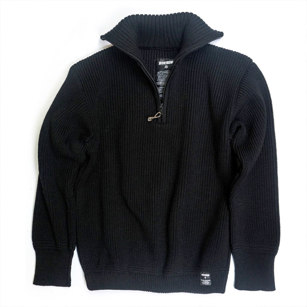 seaman sweater black jeckybeng