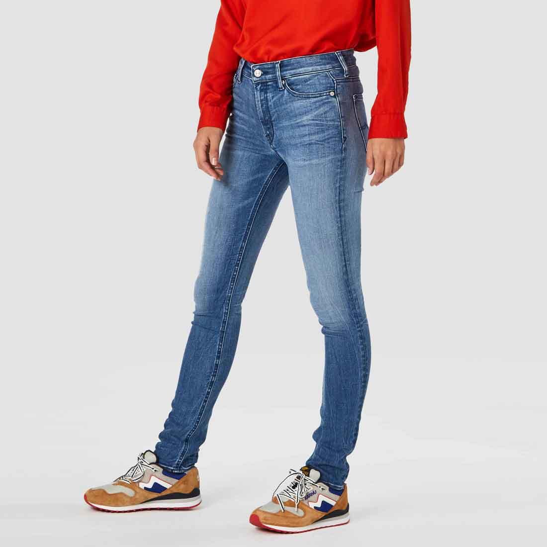 ekologiska jeans dam stretch