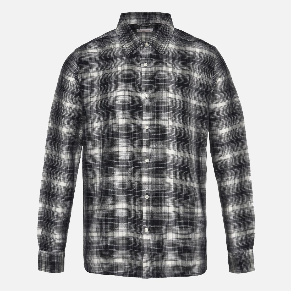 Skjorta i ekologisk bomull & lin