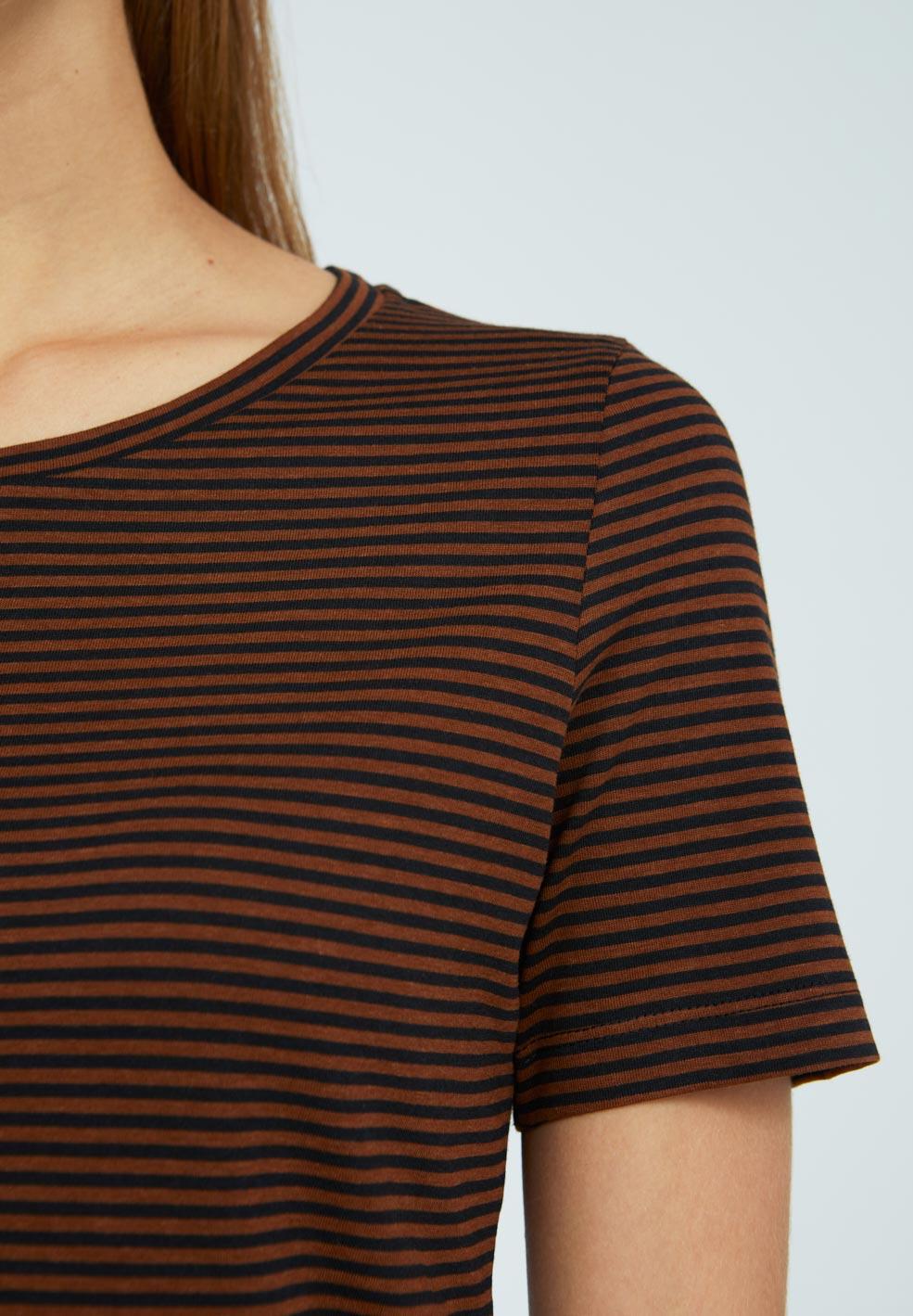 LIDIAA RING STRIPES T-Shirt made of TENCEL™ Lyocell Mix