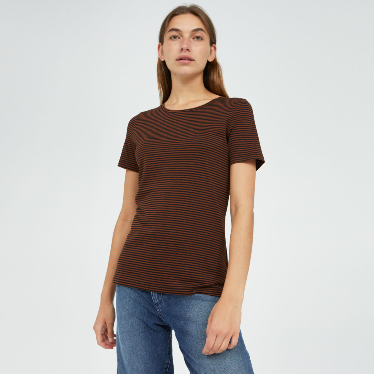 LIDIAA RING STRIPES T-Shirt made of TENCEL™ Lyocell Mix