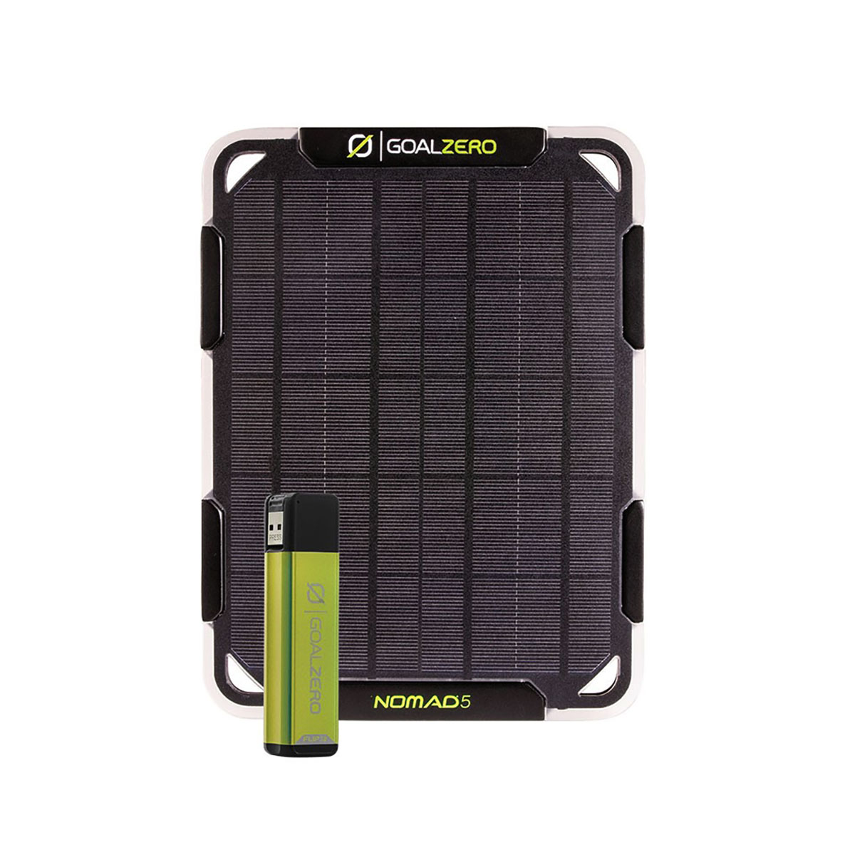 nomad 5 solar kit goal zero solcelllsladdare solpanel samt power bank flip 12