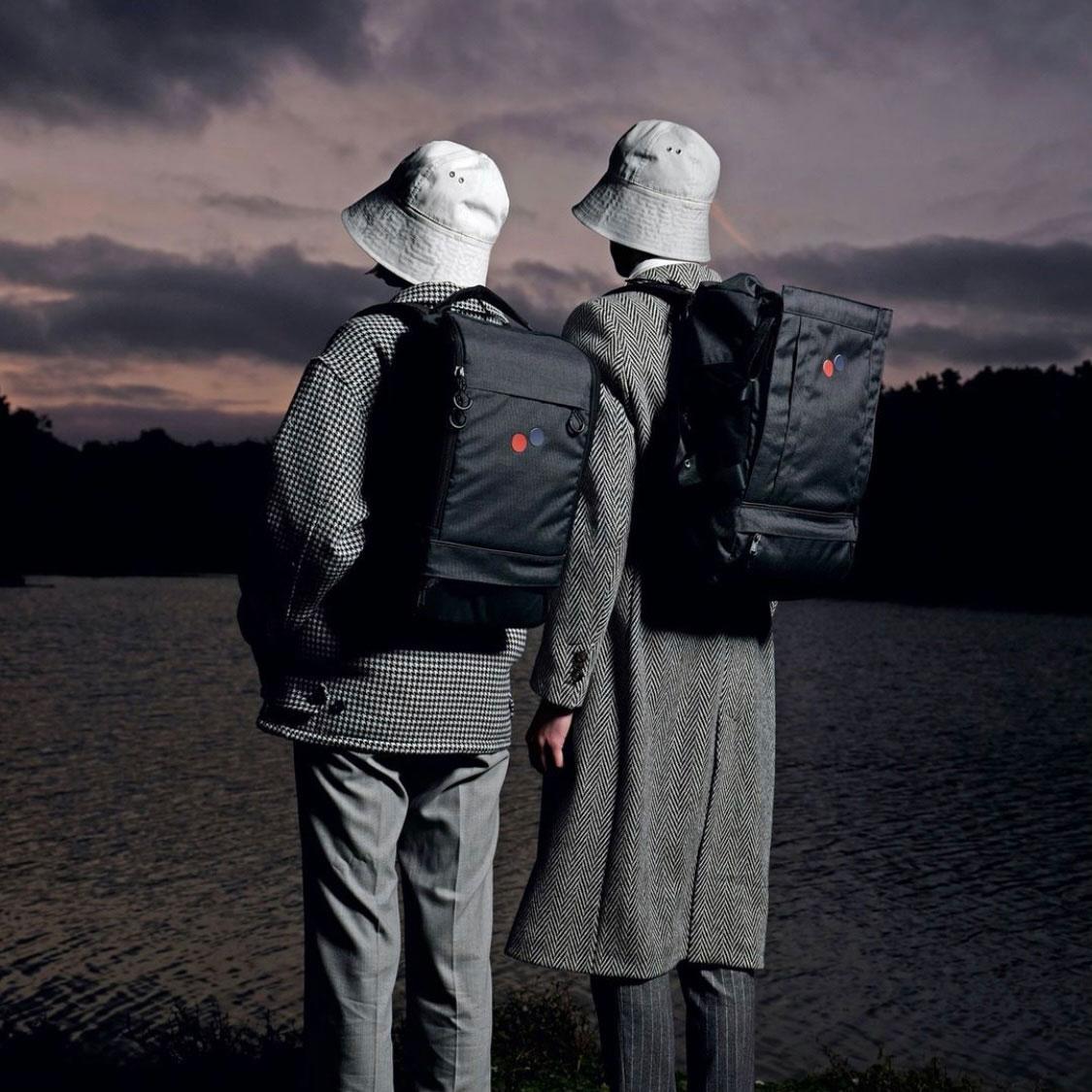 Svarta ryggsäckar från Pinqponq - nice view!