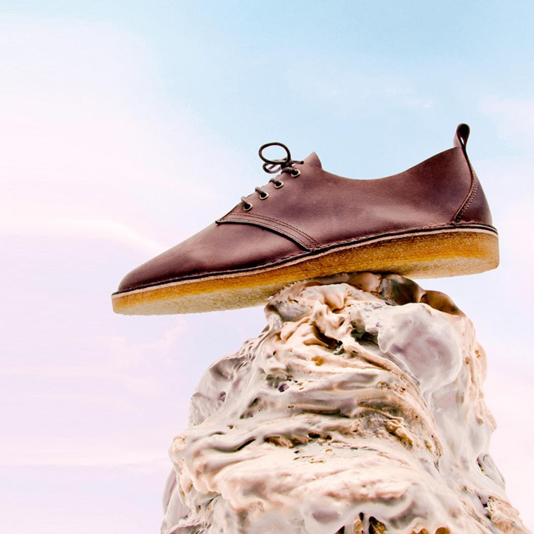 Hållbara skor i skinn