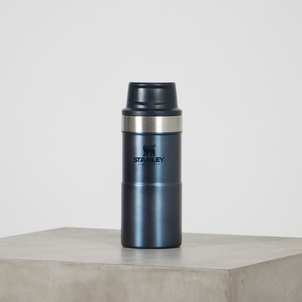 classic trigger action travel mug stanly nightfall 12oz