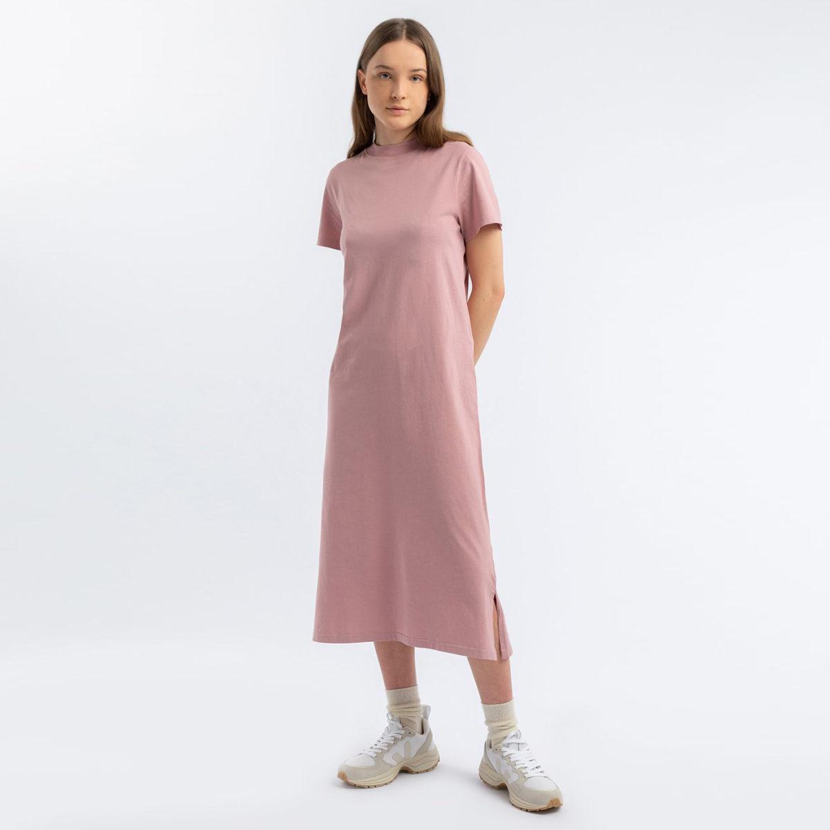 T-shirtklänning i 10% ekologisk bomull
