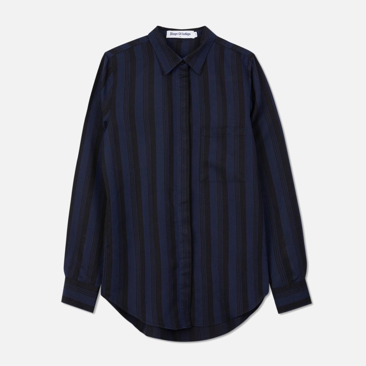Damblus i 100% Tencel från KOI - Kings of Indigo