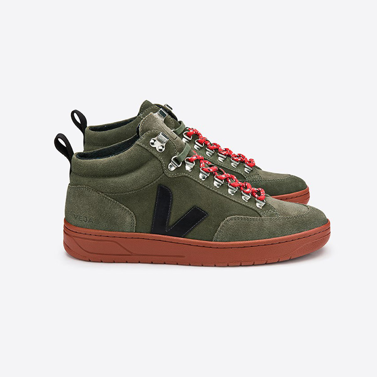 veja roraims suede sneakers high top